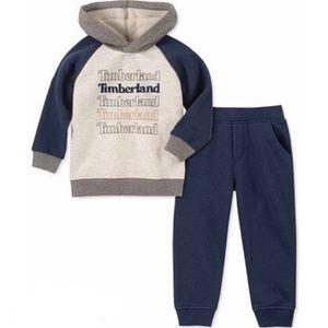 NWT Timberland Set Hoodie Sweatpants Sweatshirt